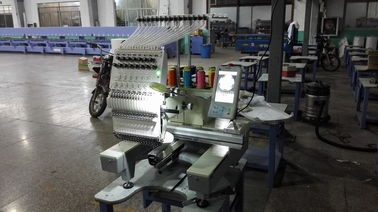 China Touch Screen One Head 9 Needle Embroidery Machine For Home Business supplier