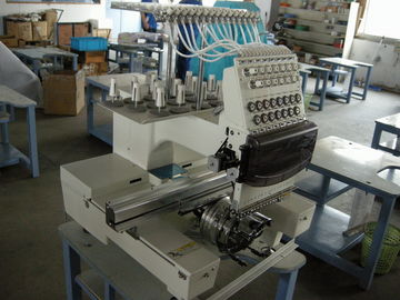 China Small Business Single Head Embroidery Machine , 12 Needle Embroidery Machine Industrial supplier