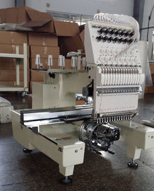 China One Head Large Format Embroidery Machine 12 Needle With  270° Wide Angle Cap System supplier