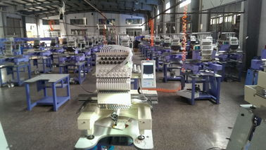 China Single Head Embroidery Machine Digital With Touchscreen And LCD Display  supplier