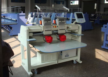 China 2 Heads Embroidery Machine For Hats And Shirts 1000000 Stitches supplier