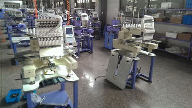China Multi Functional Single Head Embroidery Machine / Compact Cap Embroidery Machine 1200 RPM  supplier