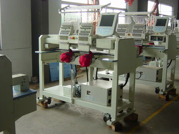 China Multipurpose 2 Head Embroidery Machine , Computer Machine Embroidery For Business supplier