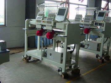 China Two Heads Cap Embroidery Machine , Large Embroidery Machine ( Ready Made Garment ) Series supplier