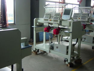 China Newest Two Heads Cap Embroidery Machine With Price supplier