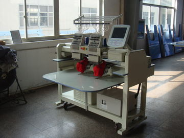 China New Type Two Heads Cap Embroidery Machine For Sale supplier