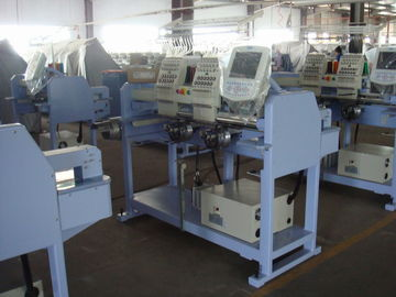 China High Speed Double Heads Cap Embroidery Machine supplier