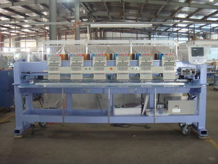 China Auto Embroidery Machine / 6 Head Embroidery Machine For Caps , Japanese Technology supplier