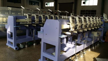 China 8'' Monitor Computerized Hat / Cap Embroidery Machine With 8 Head supplier