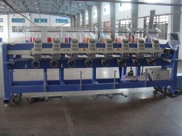 China Computerized Tubular Embroidery Machine , Automatic Embroidery Machine With 9 Neddle supplier