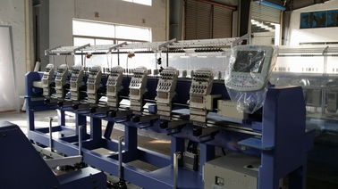 China Small Business Tubular Embroidery Machine With 9 / 12  / 5 Needle supplier