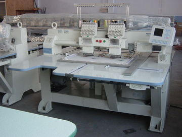 China Customzied Flat Double Head Embroidery Machine Max Speed 850 RPM supplier