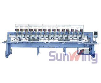 China Multi Languages Computerized Embroidery Machine For Home Business supplier