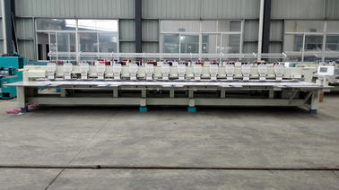China Backpacks / Visors 15 Heads Flat Embroidery Machine For Industrial supplier