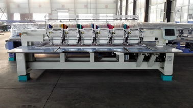 China Bags / Pants Multi Needle Embroidery Machine 10 Inch Monitor supplier