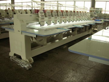 China Compact Cap / Flat Embroidery Machine With Automatic Color Changing supplier