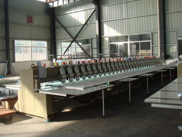 China Automatic Multi Head Computerized Embroidery Machine Low Noise Less Vibration supplier