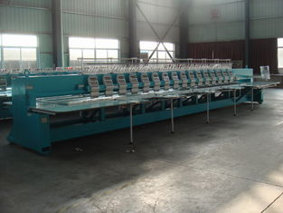 China High Speed Computerized Embroidery Machine With 16 Heads 12 Needles supplier