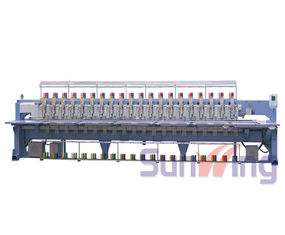 China 20 Head Flat / Chenille Embroidery Machine For Hats And Shirts supplier
