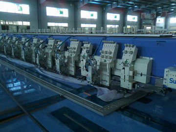 China 4 In 1 Automatic Embroidery Machine , 12 Head Embroidery Machine Multi Languages Available supplier