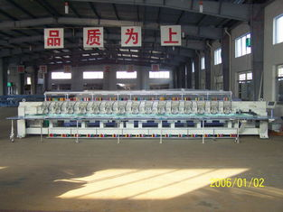 China Cap / Hat / Chenille Embroidery Machine 15 Head With German Continental Belt supplier