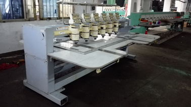 China Second Hand Computerised Embroidery Machine With 6 Heads 9 Needles supplier