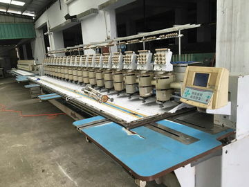 China Barudan 20 Heads Used Commercial Embroidery Machines 9 Needles supplier