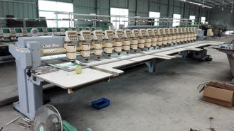China Computerized Second Hand Barudan Embroidery Machine 20 Heads 9 Needles supplier