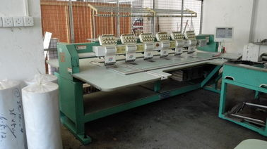 China High Performance Used Tajima 6 Head Embroidery Machine Computerized supplier