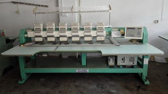 China Multi Functional Used Tajima Embroidery Machine With Digital Control supplier