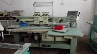 China Multi Needle Used Tajima Embroidery Machine 2 Heads 9 Needles 3 Phases supplier
