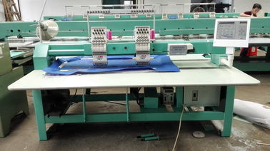 Second Hand Tajima Commercial Embroidery Machines Two Heads 380V