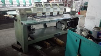China Computerized Used Tajima Embroidery Machine 4 Heads 3 Phases 380V supplier