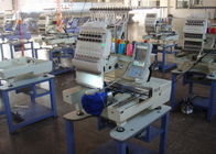 China Single Head Computerized Embroidery Machine For Cap / Flat / T - Shirt / Shoes factory
