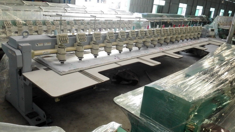 Used Embroidery Machines For Sale >> Multi Functional Commercial Embroidery Machine For Sale Used 18 Head