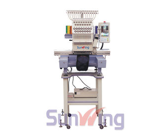 China 15 Needles Computerized Single Head Embroidery Machine For Home / Commercial distributor