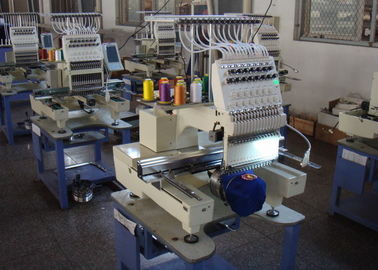 China High Speed Automatic Embroidery Machine , Multi - Languages 1 Head Embroidery Machine New distributor