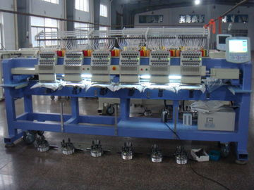 China 6 Heads Commercial Computerized Embroidery Machine 850 RPM Max Speed distributor