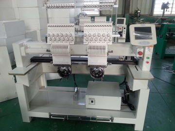 China Industrial Monogramming Machine Two Heads , Cloth Embroidery Machine CT1202 factory