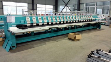 China Computer Controlled Embroidery Machine , Quilting Embroidery Machine With 20 Heads distributor