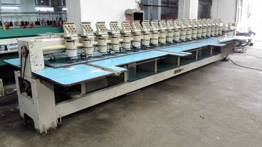 China Multipurpose Computerised Used Barudan Embroidery Machine 20 Heads distributor