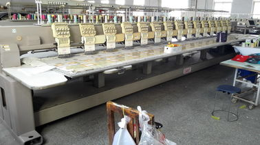 China High Performance Used SWF Embroidery Machine 400 x 750mm Emb Area distributor