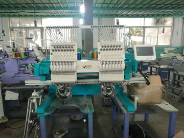 China 15 Needles Two Head Embroidery Machine With One Year Warranty CE ISO9001 factory