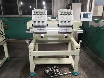 China Fast Speed Multi Head Computerized Embroidery Machine For Kids Clothing factory