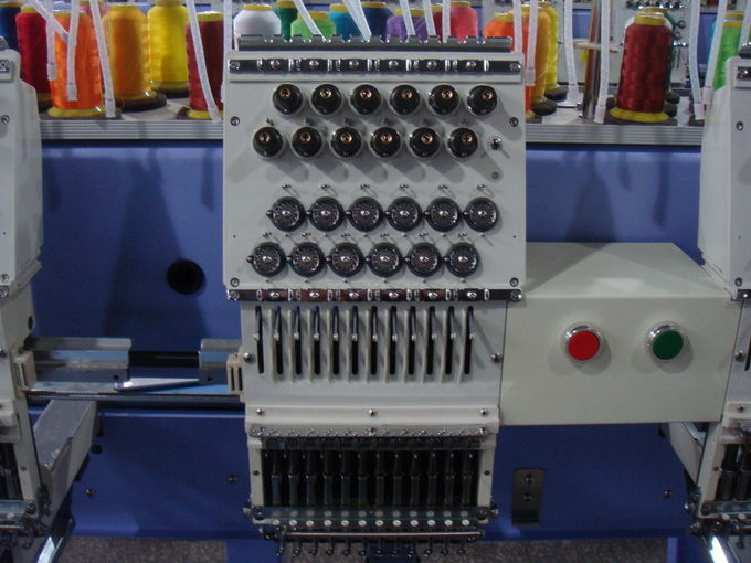 6 Heads Commercial Computerized Embroidery Machine 850 RPM Max Speed