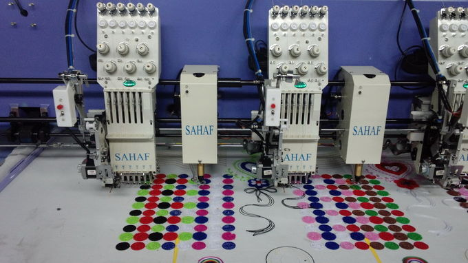 10 Inch Monitor Chenille Chain Stitch Embroidery Machine With Dahao Servo Motor