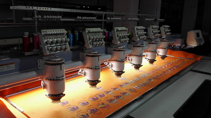 6 Heads Refurbished Barudan Embroidery Machine For Home Business BEDYH-YN-6