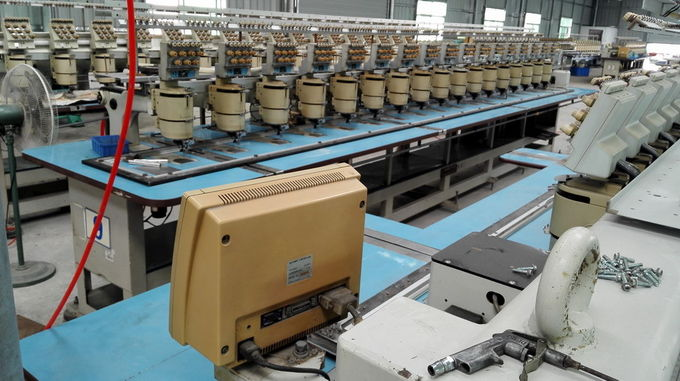 2nd Hand Barudan 7 Needle Embroidery Machine For Business BEMS-YS-17T