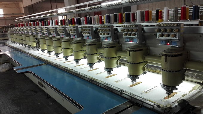 High Efficiency Used Barudan Embroidery Machine Multi Needle For Cap T Shirt
