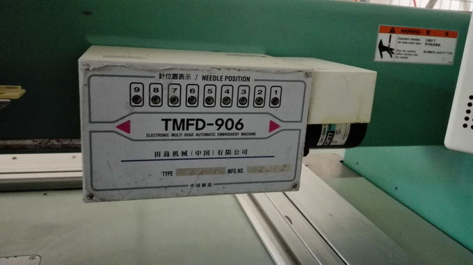 High Performance Used Tajima 6 Head Embroidery Machine Computerized